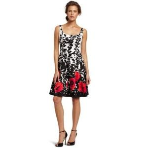 Nine West fit and flare floral dress